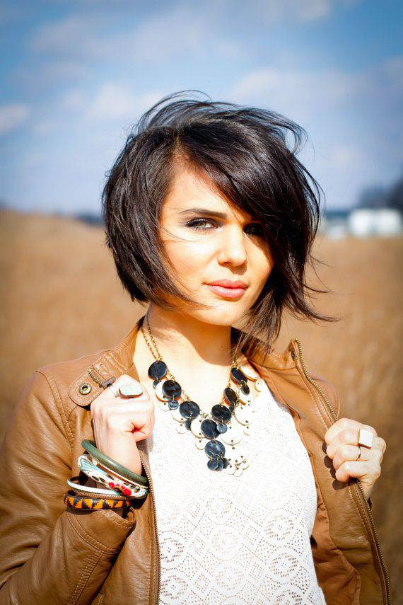 2014 Short Stacked Bob Hairstyles for Women