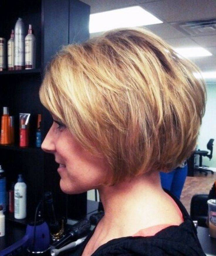 2014 Short Stacked Bob Hairstyles for Women Cute-2014-Short-Stacked-Bob-Hairstyles