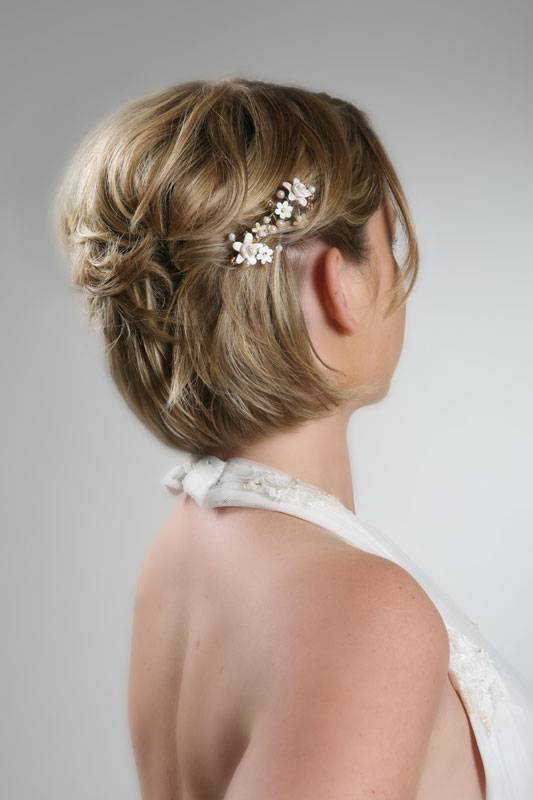 Bridesmaid Hairstyles for Short Hair 2014