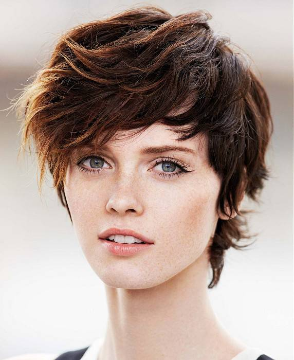 Beautiful Short Shaggy Haircuts for 2014
