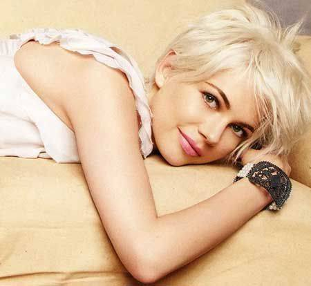 Latest Short Blonde Hairstyles 2014