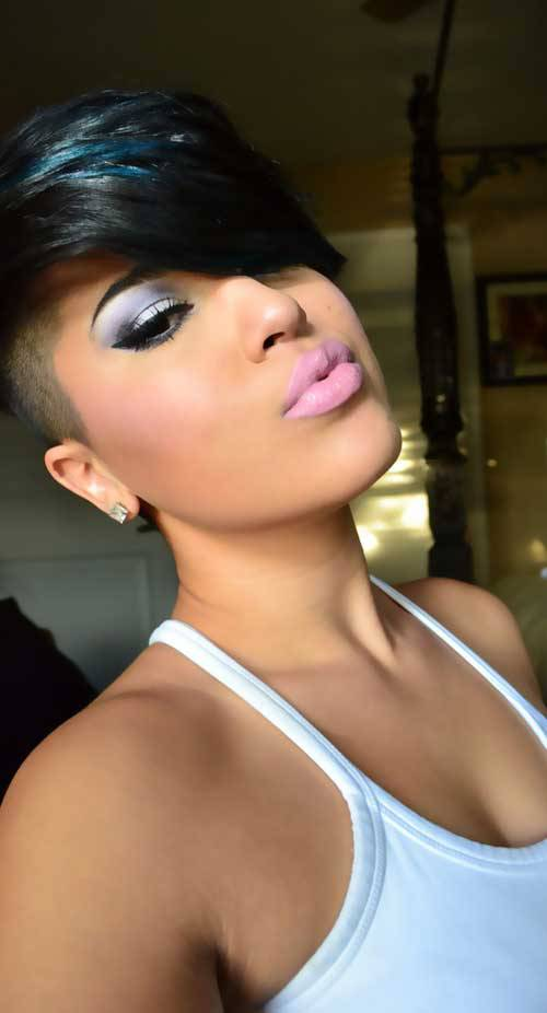 Sexy Short Hairstyles for 2014 Sexy-Short-Black-Hairstyles-2014