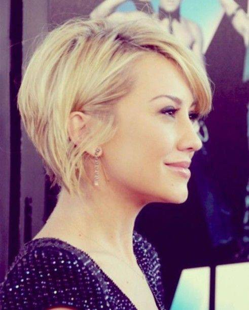 Trendy Short Blonde Hairstyles 2014
