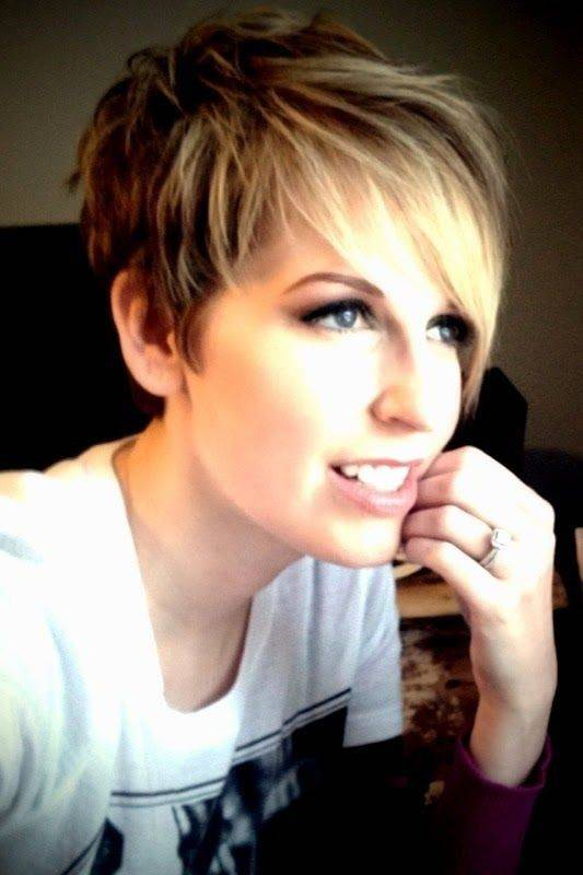 2014 Short Layered Hairstyles for Women