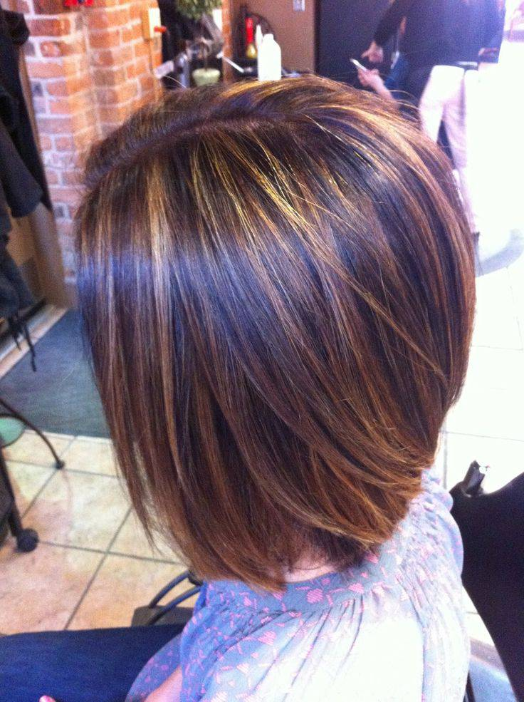 New Short Hairstyles and Highlights Short-Haircuts-With-Blonde-Highlights