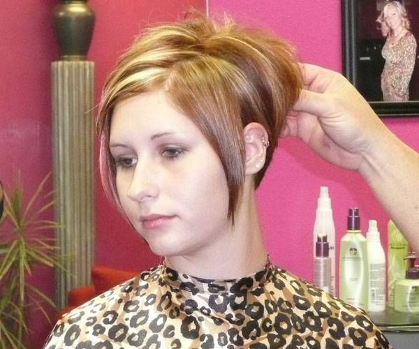 New Short Hairstyles and Highlights short-hairstyles-with-layers-and-highlights