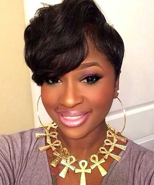 Cute Short Hairstyles for Black Women 2015 Short-Hairstyles-for-African-American-Women-