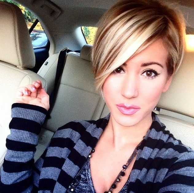 Short Hairstyles Trends for 2015 Short-Straight-Hairstyle-with-Long-Bangs