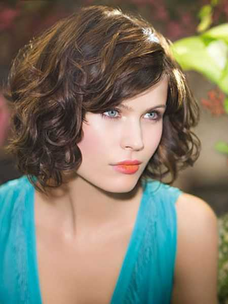 Trendy Short Curly Hairstyles 2015 elegant-short-curly-hairstyles