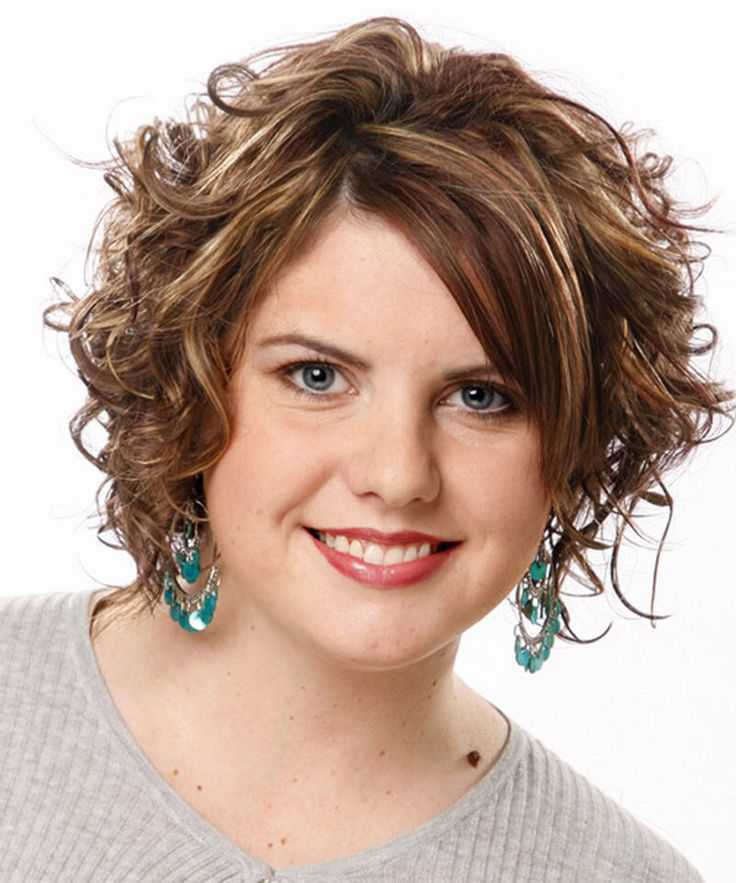 Best Short Hairstyles for Round Faces 2015 short-curly-hairstyles-for-round-faces