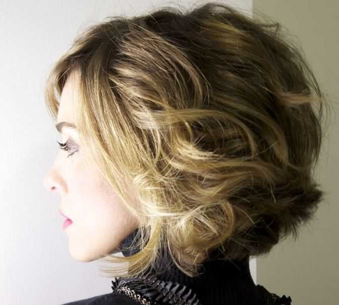 Cute Short Haircuts with Highlights short-haircuts-with-blonde-highlights