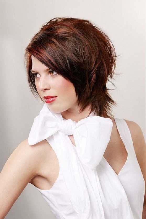 Short Layered Hairstyles for 2015 short-layered-hairstyles-for-thick-hair