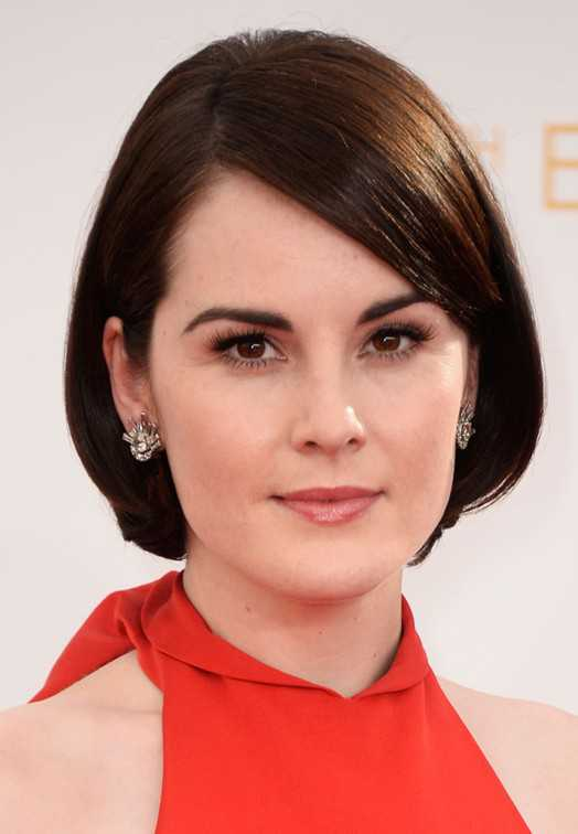 short straight hairstyles for oval faces