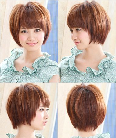 short asian hairstyles for round faces