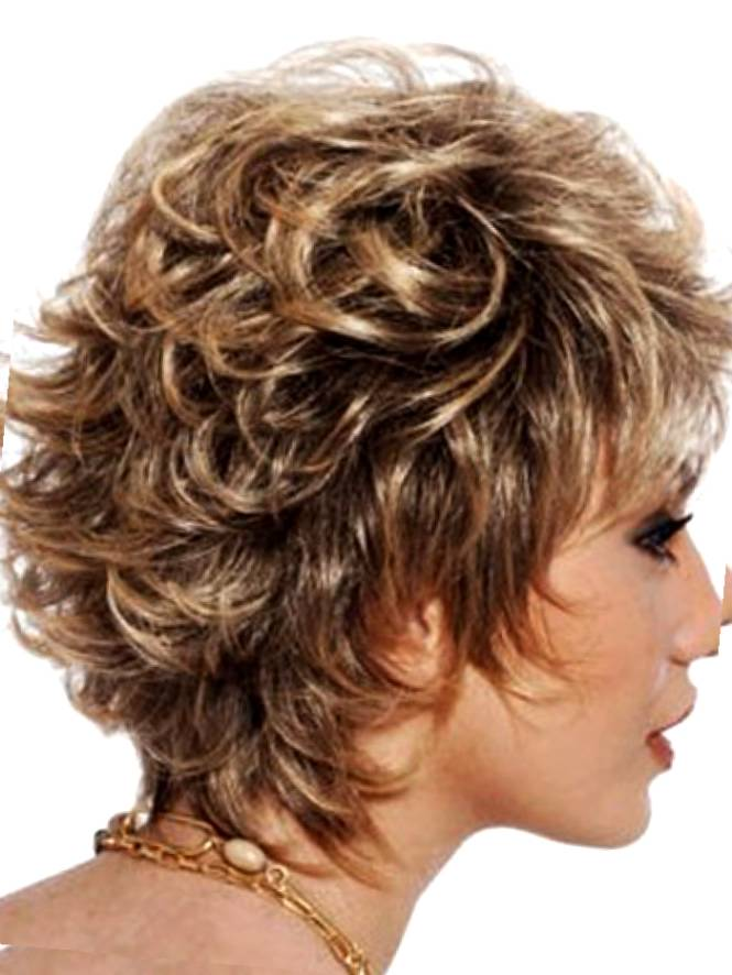 short shaggy hairstyles for curly with fine hair