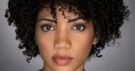Short Natural Curly Black Hairstyles