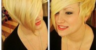 Trendy Short Asymmetrical Haircuts