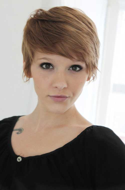 New Trendy Short Haircuts for Women 2015