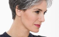 The Three Best Short Hairstyles for Gray Hair (Updated 2018) 5216e4ceea5a14316793e60fac4ee86b-235x150