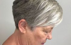 The Three Best Short Hairstyles for Gray Hair (Updated 2018) 6a2a5817785210951ea77baaea62d643-235x150