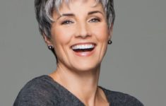 The Three Best Short Hairstyles for Gray Hair (Updated 2018) 79253d549611c0f4c8dc979c63a0116b-235x150