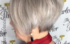 The Three Best Short Hairstyles for Gray Hair (Updated 2018) 917edbc13d9974fac5ec7dc576ad64d5-235x150