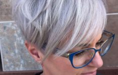 The Three Best Short Hairstyles for Gray Hair (Updated 2018) eb5fe17c4cb52560a2a2c9fc2bc43e61-235x150