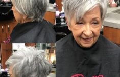 The Three Best Short Hairstyles for Gray Hair (Updated 2018) f68ae6f31388070d4f343a12aa25d910-235x150