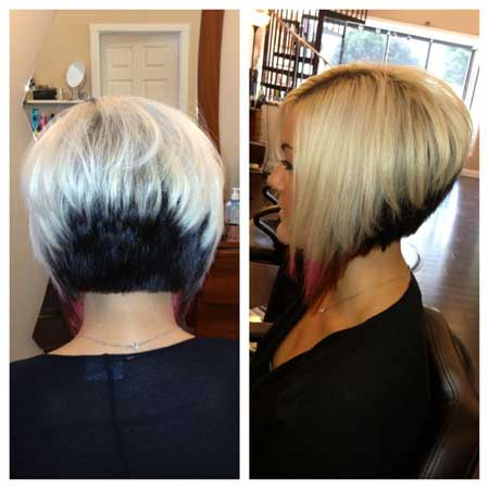 short layered inverted bob hairstyles 2015