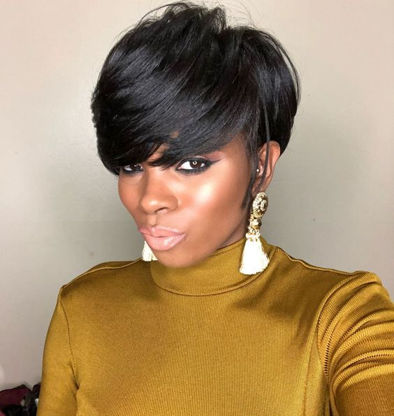 Side-Swept Pixie Haircut for Black Women 7 b271bb5f6df897802985d80f65adc296