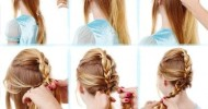 Elsa Hairstyle Tutorial For Girls 2015
