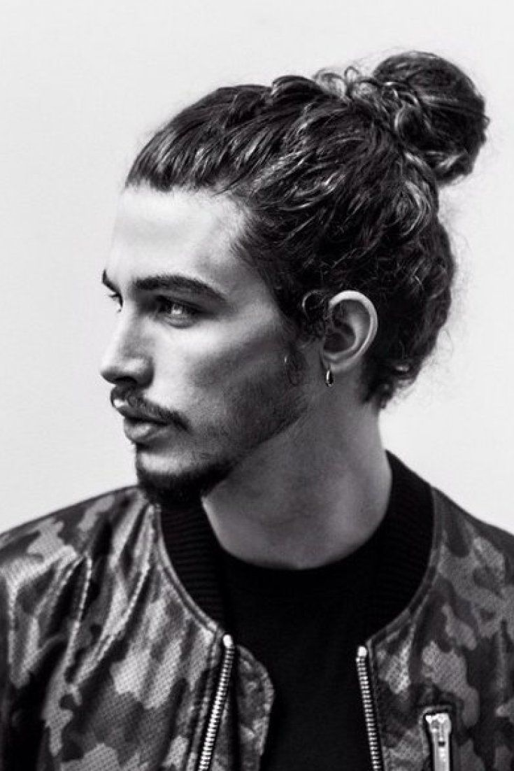 Man Buns Hairstyles With Beards 2015 man_bun_with_beards3_short-haircutstyles.com_