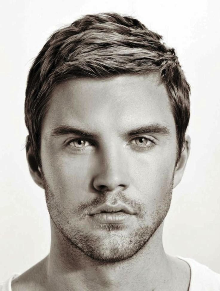 Men's Hairstyles for Egg Shaped Heads egg-shaped-face-hairstyles
