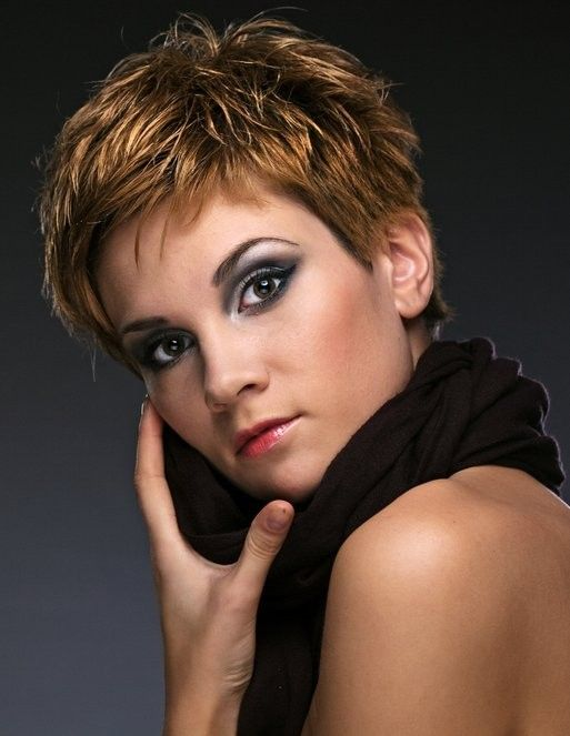 short brown hairstyles with highlights short-brown-hairstyles-with-highlights