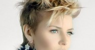 Short Spiky Hairstyles For Round Faces