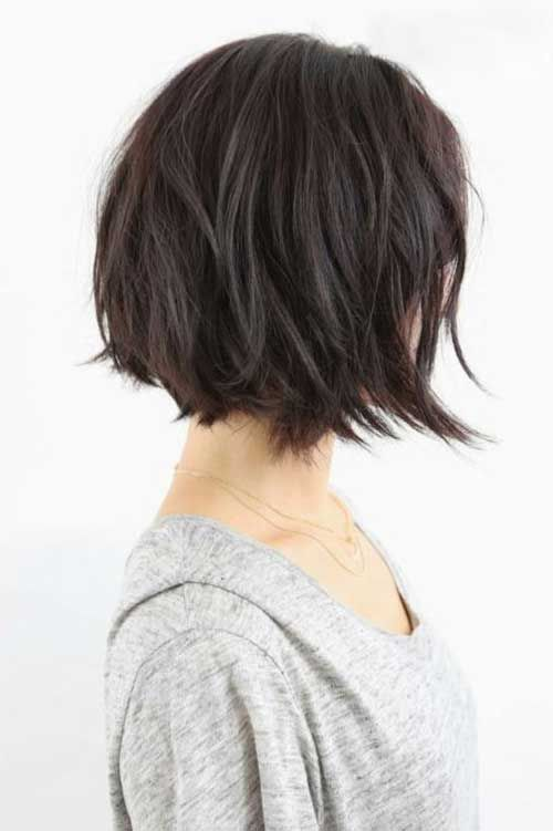 Best Style for Cute Bob Haircuts 2016 messy-tousled-bob-hairstyle-5