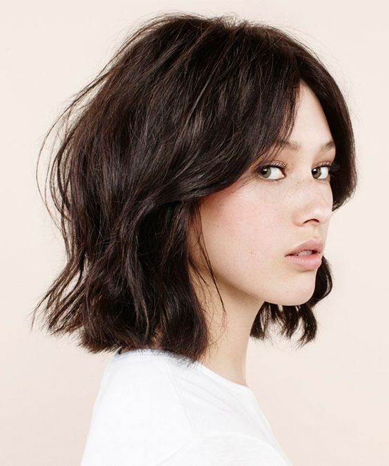 Best Style for Cute Bob Haircuts 2016 messy-tousled-bob-hairstyle-6
