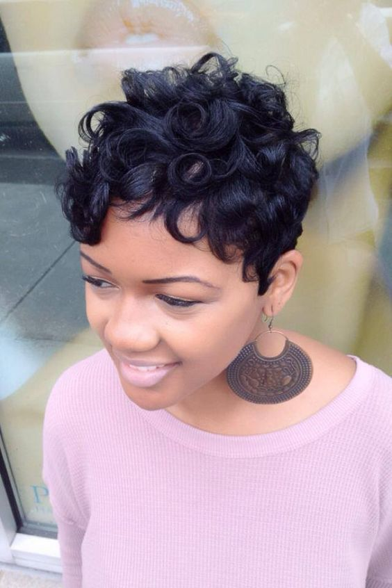 Types of Perms for Short Hair You Can Create short-hair-pin-curl-perms-1