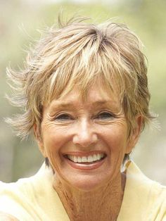Get a Different Look with Short Layered Hairstyles for Women over 60 short-layered-hairstyles-for-women-over-60-4