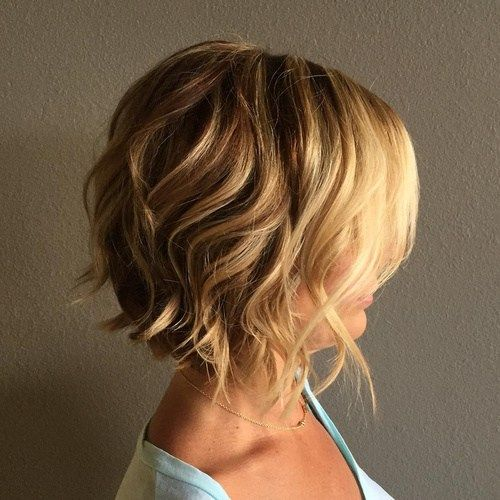Best Style for Cute Bob Haircuts 2016 wavy-bob-hairstyles-1