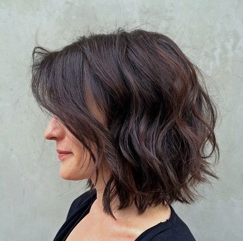 Best Style for Cute Bob Haircuts 2016 wavy-bob-hairstyles-5