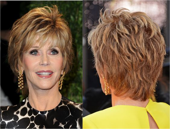 Great Choices of Shag Haircuts for Women Over 60 shaggy-curls-short-hair-over-60-ideas-1