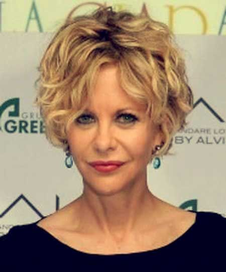 Great Choices of Shag Haircuts for Women Over 60 shaggy-curls-short-hair-over-60-ideas-2