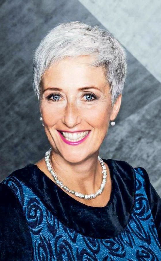 Beautiful looking very short pixie haircut for women over 60 7