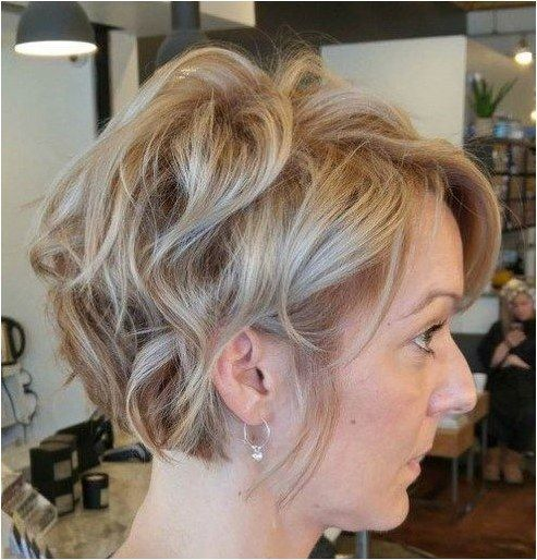 Trendy soft wavy pixie haircuts for older women 9