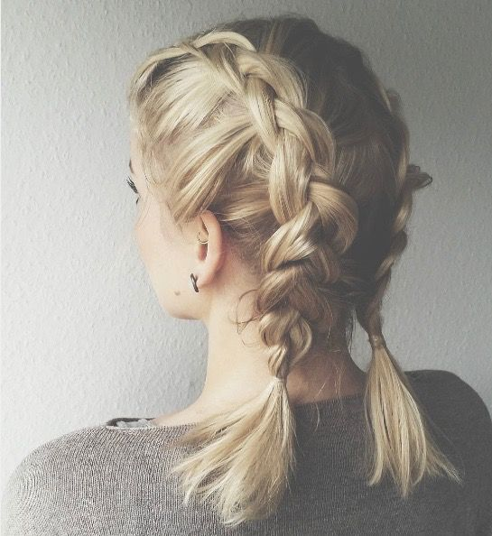 Top Shoulder-Length Hairstyles to Try in 2017 Double_Dutch_Braids_Hairstyles_ideas_1-3