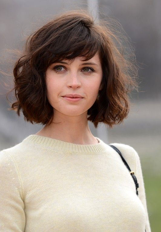 Top Shoulder-Length Hairstyles to Try in 2017 Messy_Fringe_Hairstyles_catalog_5
