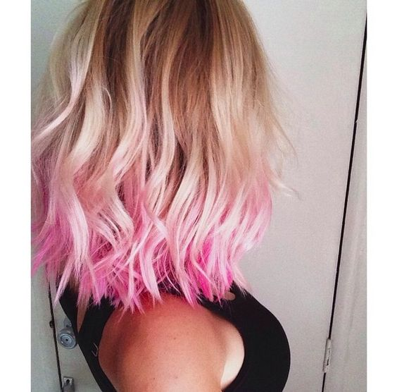 Short Ombre Hair that Good for You to Try! Apricot_Hairstyles_1