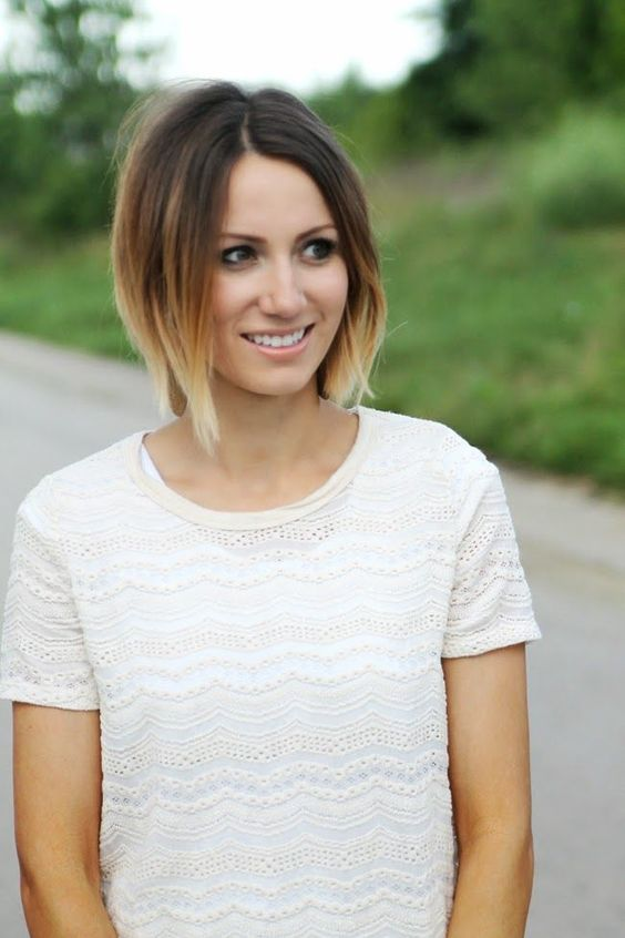 Short Ombre Hair that Good for You to Try! Blazing_ends_2