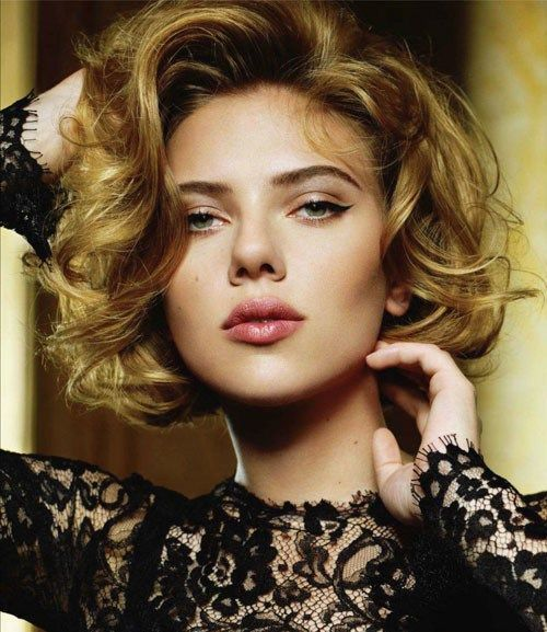 Short Hairstyles 2017, Check Them Now! Blonde_Curly_Bob_4-1
